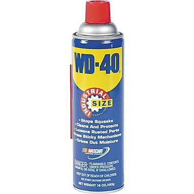 WD-40 Spray Lubricant, 16 oz.