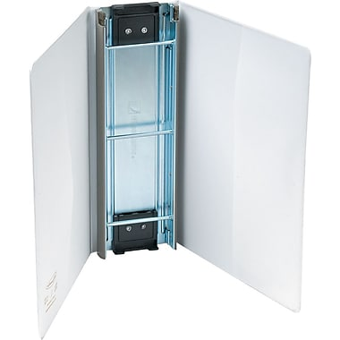 Wilson Jones Hanging View Binder, 3in., White, 480 Sheet Capacity