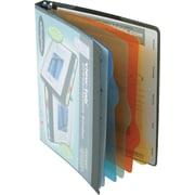 "5/8"" Wilson Jones® All-In-One View-Tab® Round Ring Presentation Books, Black"
