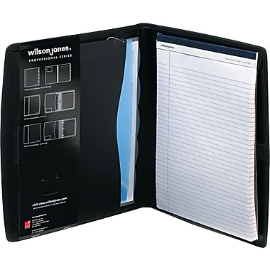 wilson jones view tab professional folio and sorter black 5 tab resume binder portfolio