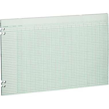 Wilson Jones Double Page Columnar Sheets, 11in. x 17in., 36 Columns