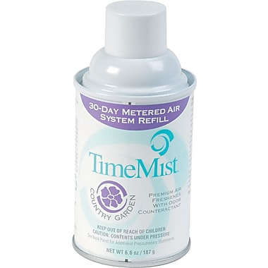 TimeMist® Air Freshener Refill, Country Garden, 5.3 oz., 12/Case