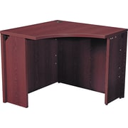 HON® 10500 Curved Corner Unit, Mahogany