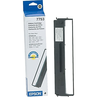 Epson® 7753 Nylon Printer Ribbon, Each
