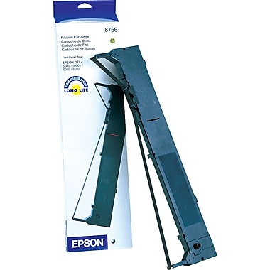 Epson 8766 Nylon  Ribbon, Black