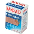 Band-Aid® Flexible Fabric Adhesive Tough Strip 1in. x 3-1/4in.