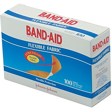 Band-Aid® Flexible Fabric Strips
