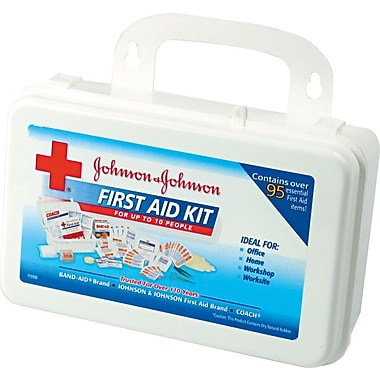 Johnson & Johnson Professional/Office First Aid Kit for Up to 10 People