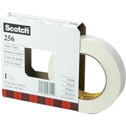 Scotch® White Paper Tape, 1 x 60 yds.