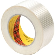 "Scotch® Extreme Application Packaging Tape, 3"" Core, Clear, 50mm x 50m, 1/Rl"