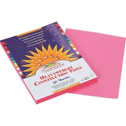 """Pacon SunWorks Construction Paper, 58 lbs., Pink, 9"""" x 12"""", 50 Sheets/Pk"""
