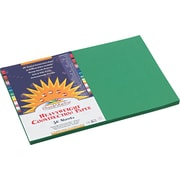 """Pacon SunWorks Construction Paper, 58 lbs. Holiday Green, 12"""" x 18"""", 50 Sheets/Pk"""