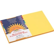 """Pacon SunWorks Construction Paper, 58 lbs. Yellow, 12"""" x 18"""", 50 Sheets/Pk"""
