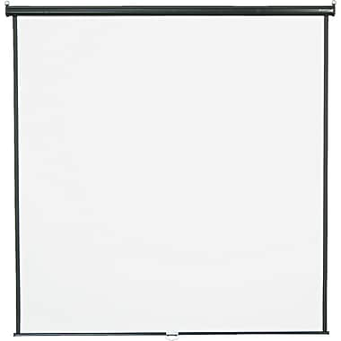 Quartet 119in. Diagonal 1:1 Aspect Mounted Pull Down Projector Screen