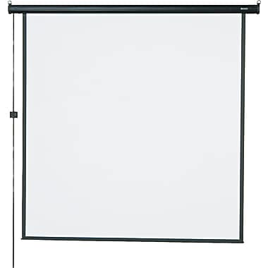 Quartet 99in. Diagonal 1:1 Aspect Mounted Motorized Projector Screen