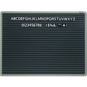 Quartet® 2' x 1-1/2' Magnetic Letter Board
