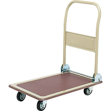 Safco Office Hand Truck, 28 3/4in. H x 18 1/2in. W x 33 3/4in. D, 700 Pound Capacity