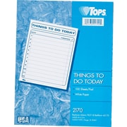 """Tops """"Things To Do Today"""" Pad, 100 Sheets Per Pad"""
