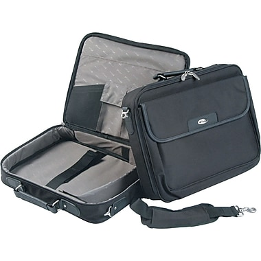 Targus Notepac Laptop Case, Black, 15.4in.