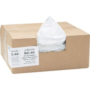 Webster Classic® Clear Trash Bags, .6 mil, 31-33 Gallon
