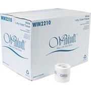 Windsoft® Single Roll Bath One-Ply Bath Tissue, 1000 Sheets/Roll, 96 Rolls/Carton 1000 sheets per roll