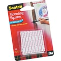 Scotch® Removable Mounting Tape, 1in. x 1in., 16 Squares