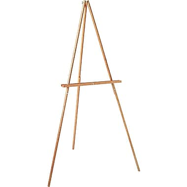 Quartet® Lightweight Oak Display Easel