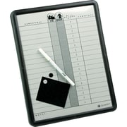 "Quartet® In/Out Personnel Board, 11"" x 14"""