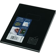 "Rediform Blueline Business Composition, 4"" x 4"" Quad, Black, 7 1/4"" x 9 1/4"", 96 Sheets"