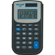 Victor 900 8-Digit Pocket Calculator with Slide -On Cover and AntiMicrobial Protection