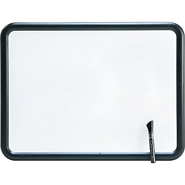 Quartet® Contour® Melamine Dry-Erase Boards with Textured Plastic Frame, 2' x 1-1/2'