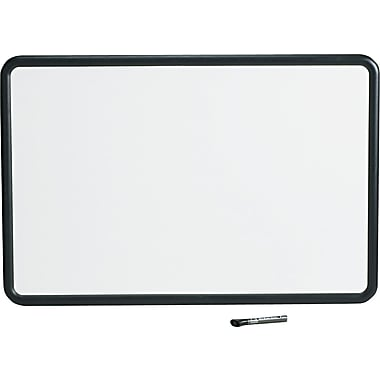 Quartet® Contour® Melamine Dry-Erase Boards with Textured Plastic Frame, 3' x 2'