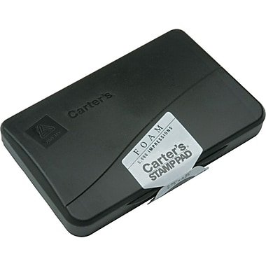 Carter's Foam Stamp Pad Black 02-3/4