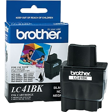 Brother LC41BK Black Ink Cartridge