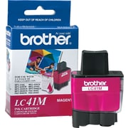 Brother – Cartouche d'encre LC41M magenta