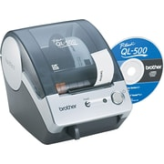 "Brother QL-500 PC Label Printer 2.4""ide 3' Long"
