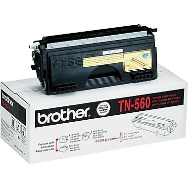 Brother – Cartouche de toner noir TN560, haut rendement