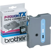 "Brother 1/2"" Blue on White tape"