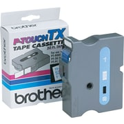 Brother 1 Blue on White tape