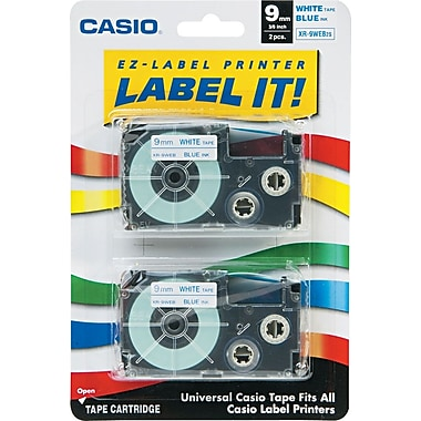 Casio Labeling Tape, 3/8