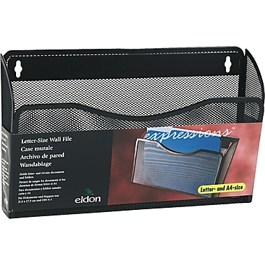 Rolodex Expressions™ Mesh Wall File, Large Letter-Size, Black