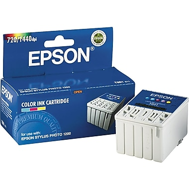 Epson T001 Color Ink Cartridge (T001011)