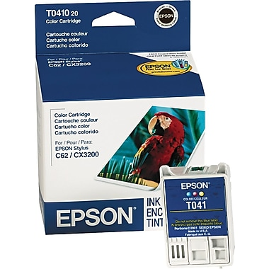 Epson 41, Tri-color Ink Cartridge (T041020)