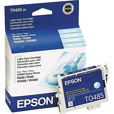 Epson 48, Light Cyan Ink Cartridge (T048520)