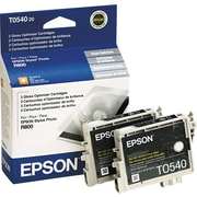 Epson® T054020 Gloss Optimizer Cartridges, Twin Pack