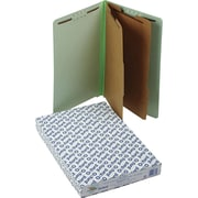 Pendaflex® End Tab Classification Folders, Legal, 2 Partitions, 10/Box