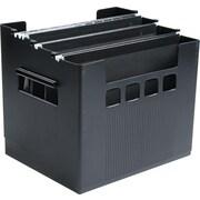 Esselte Super DecoFlex® Portable Desktop Hanging File, Black
