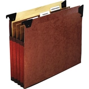 Pendaflex® Premium Reinforced Expanding File Pockets with Swing Hook, Letter, 5/Box