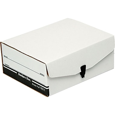 Bankers Box&reg Liberty® Binder-Pak Storage Files, 8-1/2x11