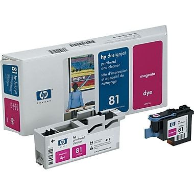 HP 81 Magenta Printhead and Cleaner (C4952A)